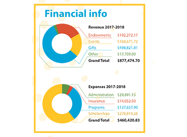 2017 Foundation Financial Report graphic