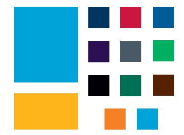 LWTech Communications & Marketing Brand Color Palette