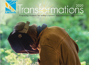 Cover of the 2020 issue LWTech Transformations magazine