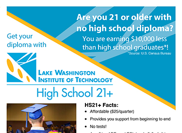 LWTech ABE HS21 Program Flyer