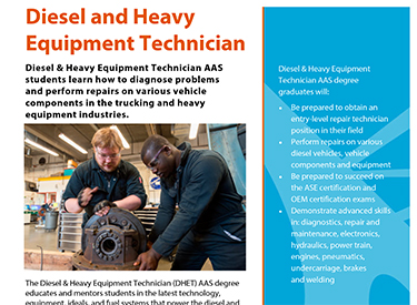 LWTech Diesel Program Flyer