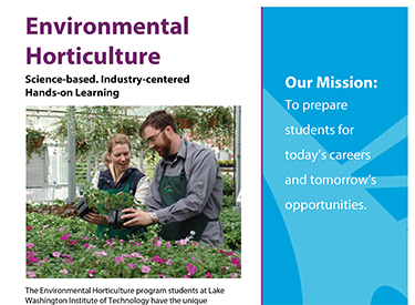 LWTech Horticulture Program Flyer