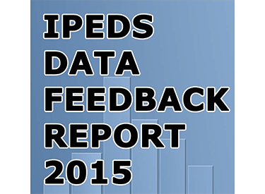 IPEDS Data Feedback Report 2015