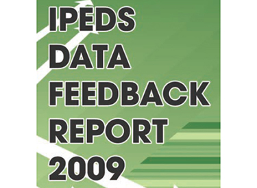 IPEDS Data Feedback Report 2009