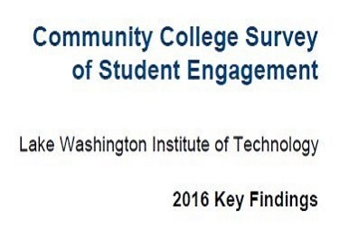 2016 CCSSE Key Findings
