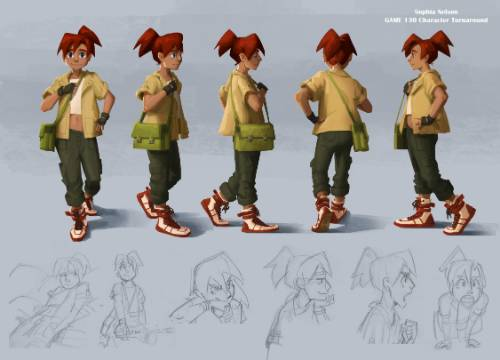 Sophia Nelson Concept Art Characters