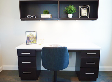 Check your workspace | image of office space