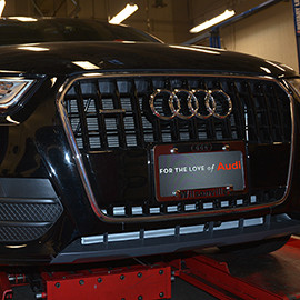 Lake Washington Institute of Technology Partners with Audi - Receives 2015 Audi Q3 for Auto Repair Program