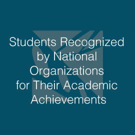 Lake Washington Institute of Technology Students Recognized By National Organizations for Their Academic Achievements