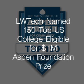 Lake Washington Institute of Technology Named One of 150 Top US Community Colleges Eligible to Compete for $1 Million Dollar Aspen Prize