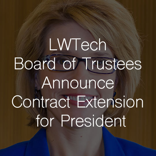 Lake Washington Institute of Technology Board of Trustees Announce Contract Extension for College President