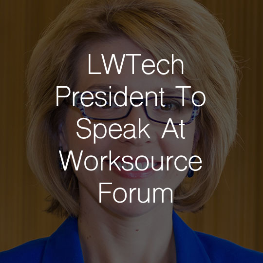Lake Washington Institute Of Technology President To Speak At Worksource Forum