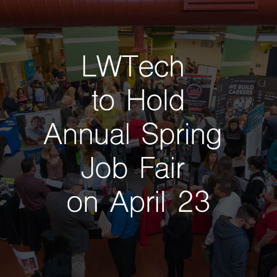 Lake Washington Institute of Technology to Hold  Annual Spring Job Fair on April 23